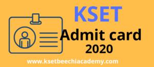 kset-admit-card-2020