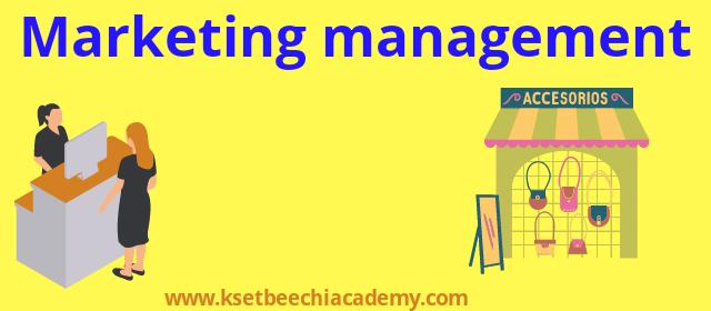 marketing management commerce