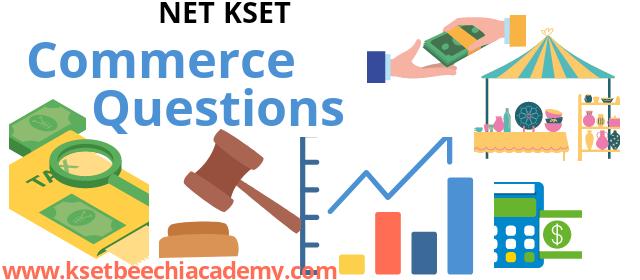 ugc net commerce questions